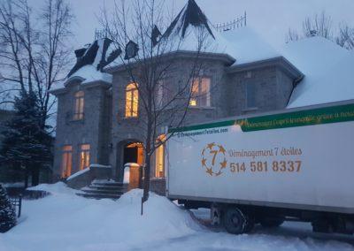 déménagement 7 étoiles Montréal