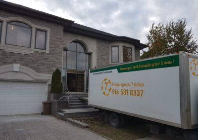Camion déménagement 7 étoiles Montréal